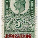 (I.B) Edward VII Revenue : Judicature Ireland 5/-