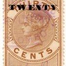 (I.B) Ceylon Revenue : Foreign Bill 20c OP