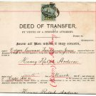 (I.B) Cape of Good Hope Revenue : Stamp Duty £2 (complete document)