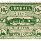(I.B) Australia - Western Australia Revenue : Probate 10/-