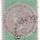 (I.B) Australia - NSW Revenue : Stamp Duty 5/-