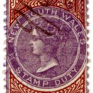 (I.B) Australia - NSW Revenue : Stamp Duty 2/6d