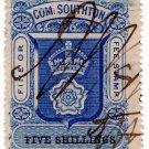 (I.B) Southampton Revenue : County Court Fees 5/-