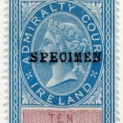 (I.B) QV Revenue : Admiralty Court Ireland 10/-