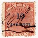 (I.B) New Zealand Revenue : Law Courts 10/-