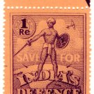 (I.B) India Revenue : War Savings Stamp 1R