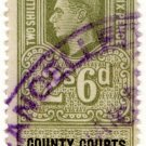 (I.B) George VI Revenue : County Courts (Northern Ireland) 2/6d