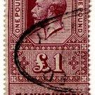(I.B) George V Revenue : Bankruptcy £1