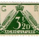 (I.B) George V Revenue : Agricultural Insurance 3½d
