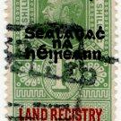 (I.B) George V Revenue : Land Registry of Ireland 1/- OP