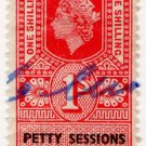 (I.B) Elizabeth II Revenue : Petty Sessions (Northern Ireland) 1/-