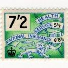 (I.B) Elizabeth II Revenue : National Insurance 7/2d