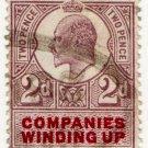 (I.B) Edward VII Revenue : Companies Winding Up 2d