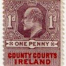 (I.B) Edward VII Revenue : County Courts Ireland 1d
