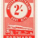 (I.B) Australia - Western Australia Railways : Parcel 2/-
