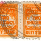 (I.B) Australia - South Australia Revenue : Stamp Duty 4/-