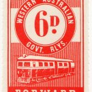 (I.B) Australia - Western Australia Railways : Parcel 6d