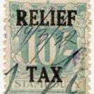 (I.B) Australia - NSW Revenue : Relief Tax 10/-