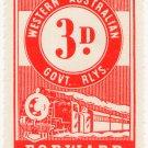 (I.B) Australia - Western Australia Railways : Parcel 3d