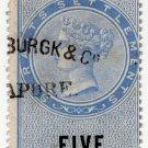 (I.B) Straits Settlements Revenue : Duty $5
