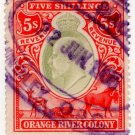 (I.B) Orange River Colony Revenue : Duty 5/-