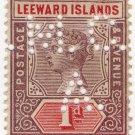 (I.B) Leeward Islands Revenue : Magistrates Court 1d (Antigua)