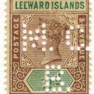 (I.B) Leeward Islands Revenue : Magistrates Court ½d (Antigua District B)
