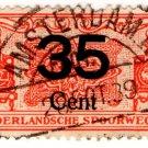 (I.B) Netherlands Railway : Parcel Stamp 35c