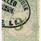 (I.B) George V Revenue : Tea Clearing House 3d