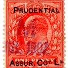 (I.B) Edward VII Commercial Overprint : Pudential Assurance