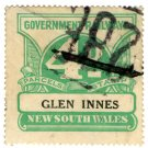 (I.B) Australia - NSW Railways Parcel 4d (Glen Innes)