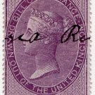 (I.B) QV Revenue : Foreign Bill 6d (1855)