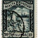 (I.B) Malta Revenue : Duty Stamp 10/-