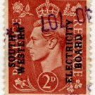 (I.B) George VI Commercial Overprint : South Western Electricity Board
