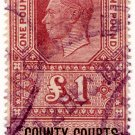 (I.B) George VI Revenue : County Courts (Northern Ireland) £1