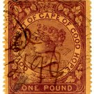 (I.B) Cape of Good Hope Revenue : Stamp Duty £1