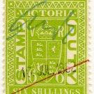 (I.B) Australia - Victoria Revenue : Stamp Duty 6/-
