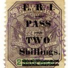 (I.B) Transvaal Revenue : Pass 2/- (no stop variety)