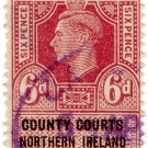 (I.B) George VI Revenue : County Courts (Northern Ireland) 6d