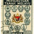 (I.B) Malaya Federation Revenue : Duty Stamp $100