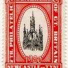(I.B) Cinderella : 7th Philatelic Congress (Newcastle 1920)