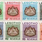 (I.B) Lesotho Revenue : Duty Stamp Collection