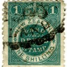 (I.B) New Zealand Revenue : Land & Deeds 1/- (small format)