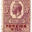 (I.B) George V Revenue : Foreign Bill 3d