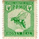(I.B) New Zealand Revenue : Honey Seal ½d