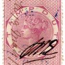(I.B) Ceylon Revenue : Stamp Duty 10c