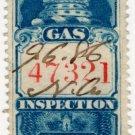 (I.B) Canada Revenue : Gas Inspection 50c