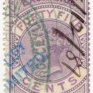 (I.B) Ceylon Revenue : Foreign Bill 45c