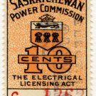 (I.B) Canada Revenue : Saskatchewan Power 10c