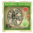 (I.B) National Savings : Thrift 10p